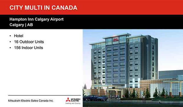 Case Study Slider Hampton Inn Calgary Airport